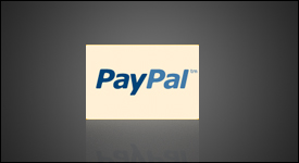 Fine Art World websites are integrated with PayPal.