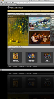 Fine Art World Home Page