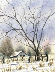 Kansas Hay Barn  Laine Dobson