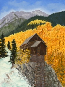 Crystal River Mill by Wilda Palmer