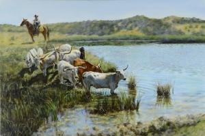 Long Horns  Judith Dickinson