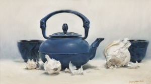 Japanese Teapot and Garlic  Gregory Block