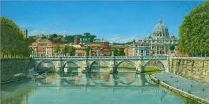 Il Fiumi Tevere, Roma  Richard Harpum