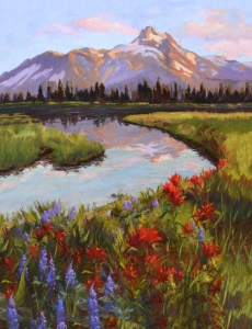 Mountain sunset  Jan Bushart