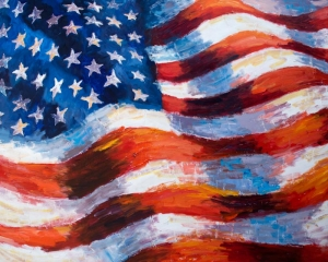 American Flag by Anita Mosher