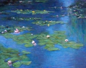 Waterlillies by Judy Greenan