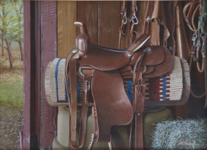 Saddle Up!  Mark Thompson