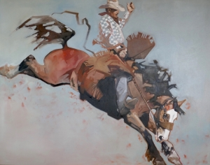 Saddlebronc by Peggy Judy