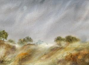 Rainy Sky by Petra Ackermann
