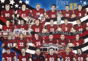Heroes of 9/11 by Donna Wayman