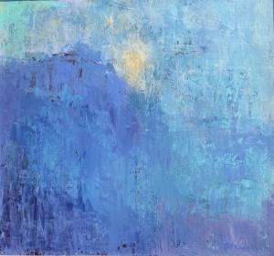 Where Land kisses the Sea by Judy Greenan