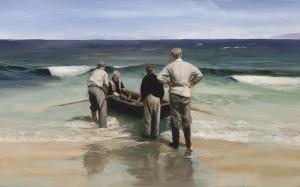 Putting the Currach to Sea by Martin Driscoll