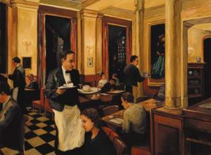Woman in the Green Dress by Sally Storch