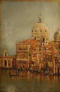 Venetian Waterscape by Joel David Holsinger