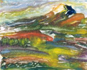 Fielded Boulder by Maria  Yu
