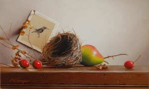 Nest with Cherries and Walnut  Mark Thompson