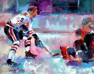 Bobby Hull by Richard Wallich
