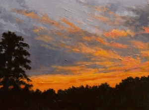 October Sunset  Ginger Whellock