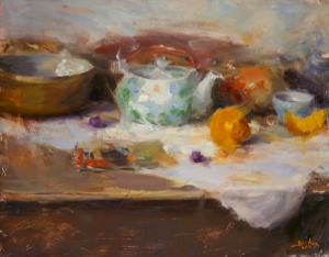 Teapot & Orange  Dan Beck