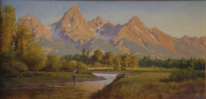 teton morning by Kimbal Warren