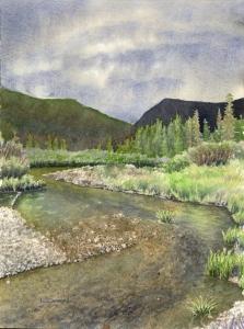 Landscape Study #5  Laine Dobson