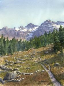 Landscape Study #6  Laine Dobson
