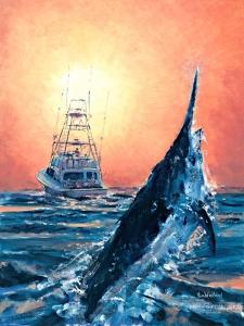 Marlin Blues by Kim Weiland
