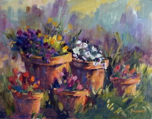Flower Pots  Jan Bushart