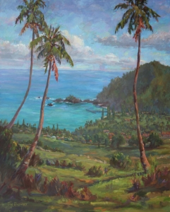 Overlooking Hana  Jan Bushart