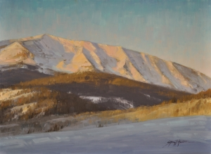 First Light Over Crested Butte  Stacey Peterson