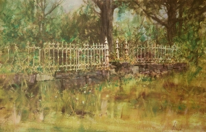 Iron Fence  Richard Schmid