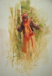 Nancy in Sherwood Forest  Richard Schmid