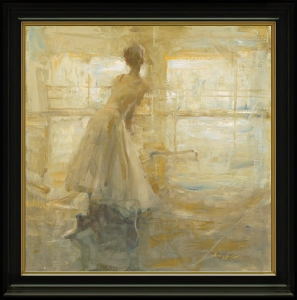 Rehearsal in Yellow - Framed by Quang Ho