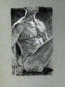 Life Drawing 9  Kalon Baughan