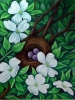 Nest in the Dogwoods by Cynthia Stewart